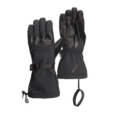 MAMMUT - Masao 3 in 1 Glove Unisexe black