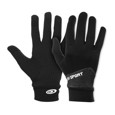 "BV SPORT - GANTS LIGHT-RUN ""MIX"" GRIS Unisexe GRIS"