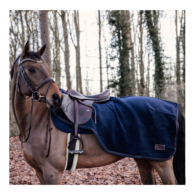 KENTUCKY - HEAVY FLEECE - Couvre-reins 160g marine