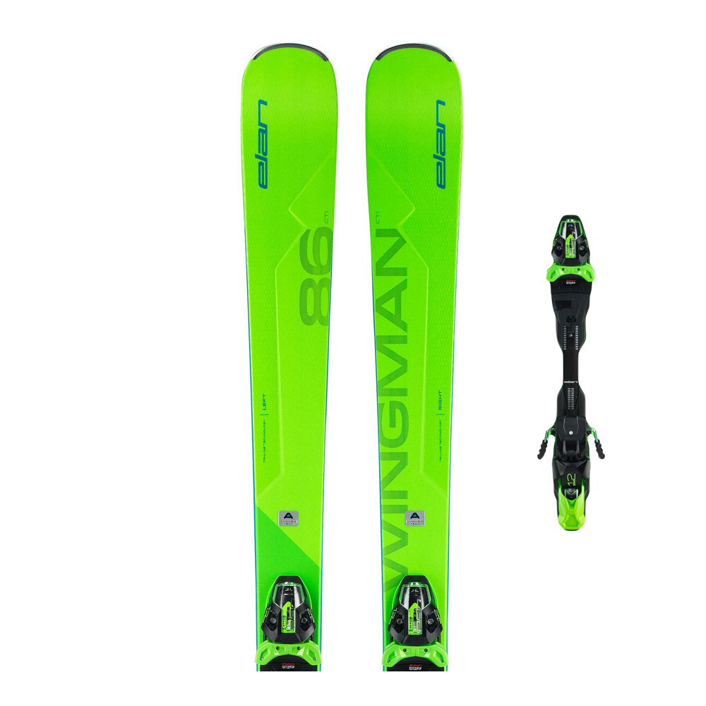 ELAN - Elan WINGMAN 86 CTI + FX EMX 12.0 - Ski-Pack - All-Mountain/Piste + Bindung - Männer