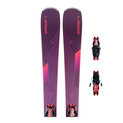 ELAN - WILDCAT 82 C + PS ELW 9.0 - Pack skis all-mountain + Fixations Femme