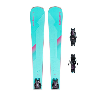 ELAN - WILDCAT 76 LS + ELW 9.0 GW SHIFT - Pack skis all-mountain + Fixations Femme