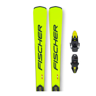 FISCHER - RC4 RCS AR + RC4 Z12 - Pack skis race + Fixations
