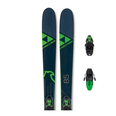 FISCHER - RANGER 85 TPR + RS9 SLR - Pack skis freeride + Fixations