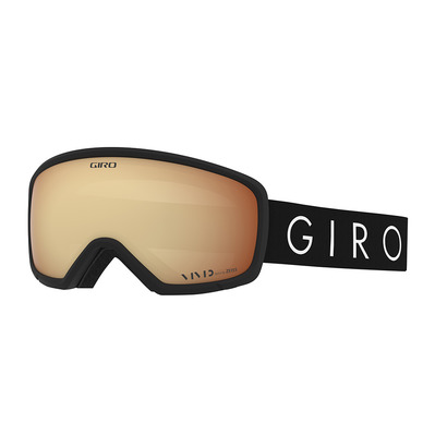 GIRO - MILLIE - Masque ski Femme black core light/vivid copper
