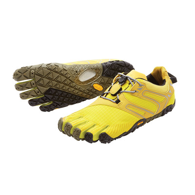 FIVEFINGERS - Five Fingers V-TRAIL - Trailrunningschuhe - Frauen - yellow/black