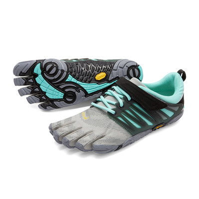 FIVEFINGERS - Five Fingers V-TRAIN - Trainingsschuhe - Frauen - grey/black/aqua