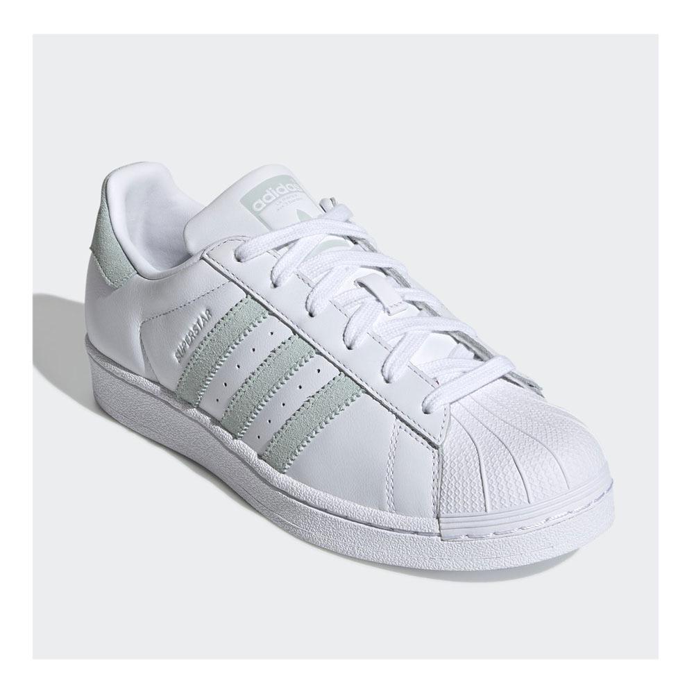 ADIDAS Adidas SUPERSTAR W - Sneakers Femme ftwwht/vapgrn/cblack ...