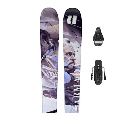 ARMADA - ARV 86 + N STH2 WTR 13 - Pack skis freestyle + Fixations Homme