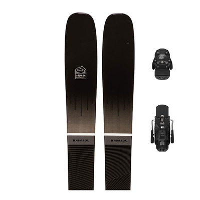 ARMADA - DECLIVITY 102 TI + N WARDEN MNC 13 - Pack skis freeride + Fixations Homme