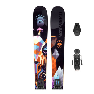 ARMADA - ARW 86 + N L10 - Pack skis all-mountain/freestyle + Fixations Femme