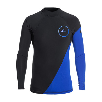 QUIKSILVER - SYNCRO SERIES - Top - 1mm Men's - graphite/black/ deep cyanine