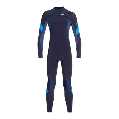 QUIKSILVER - SYNCRO - Wetsuit - 4/3mm Junior - dark navy/iodine blue