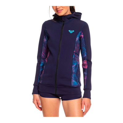 ROXY - SYNCRO - Jacket - 1mm Women's - blue ribbon/coral flame