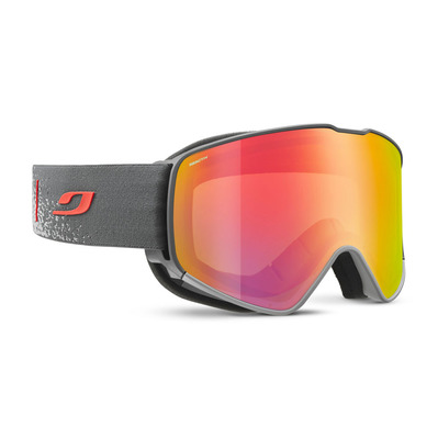JULBO - CYRIUS - Masque de ski gris/flash rouge