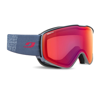 JULBO - CYRIUS - Masque de ski bleu/multilayer fire