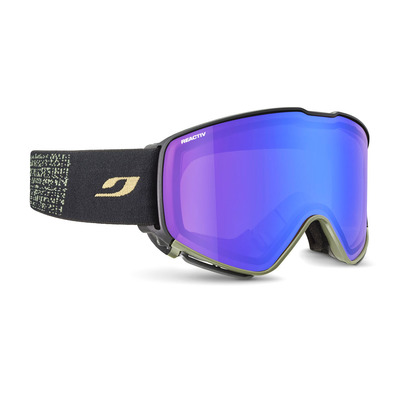 JULBO - QUICKSHIFT - Masque de ski noir/vt/flash bleu