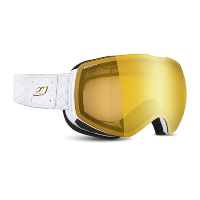 JULBO - SHADOW - Masque de ski Femme blanc/flash or