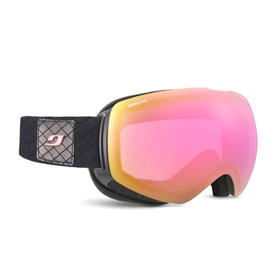 JULBO - SHADOW - Masque de ski Femme noir/rose/flash rose