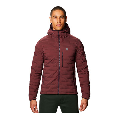 MOUNTAIN HARDWEAR - SUPER DS STRETCHDOWN - Piumino Uomo washed raisin