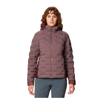 MOUNTAIN HARDWEAR - SUPER DS - Piumino Donna warm ash