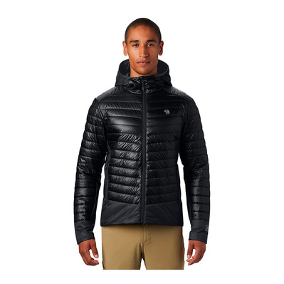 MOUNTAIN HARDWEAR - GHOST SHADOW - Chaqueta hombre black