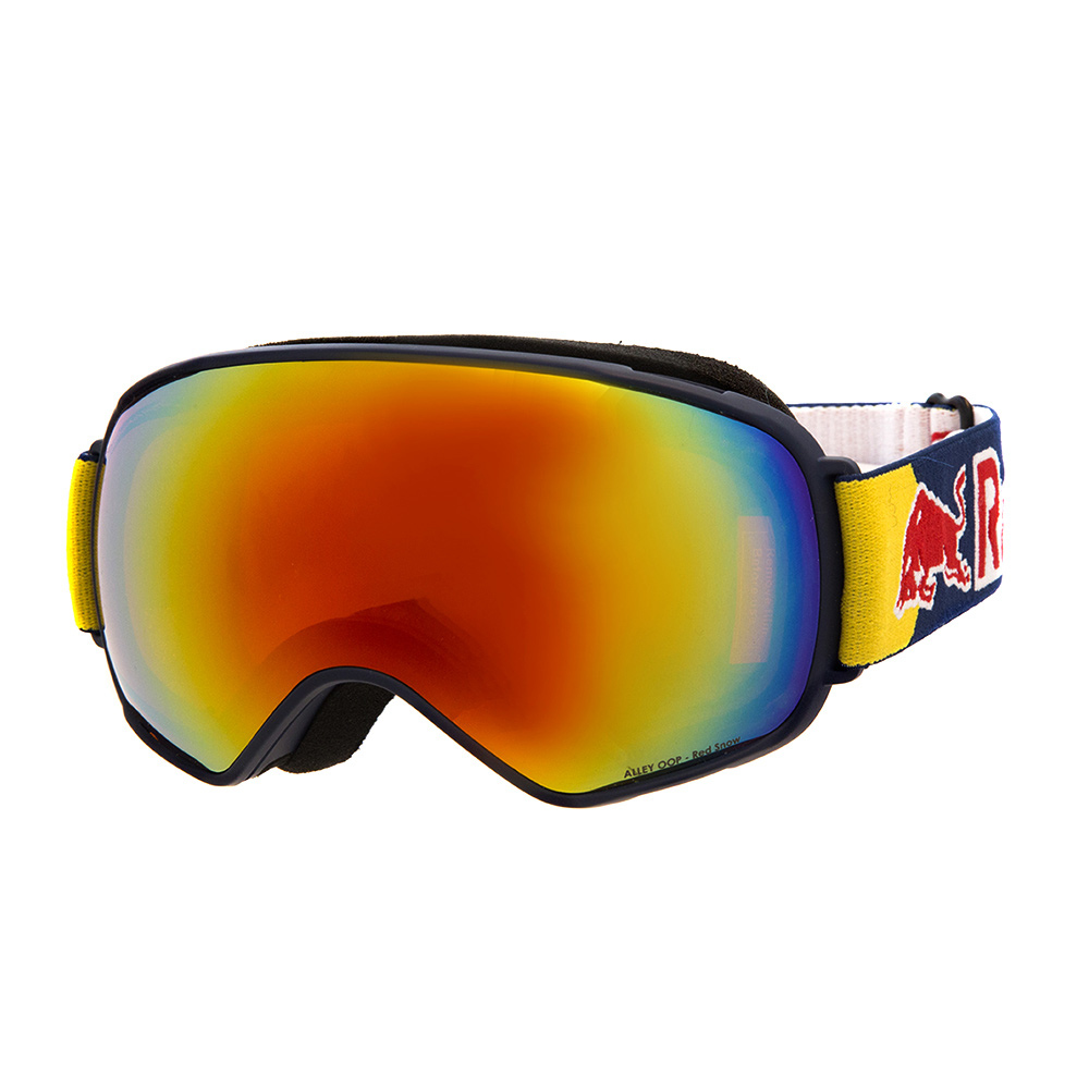 RED BULL SPECT - Red Bull ALLEY OOP 007 - Gafas de esquí dark blue/red snow