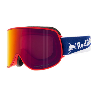 RED BULL - MAGNETRON EON 014 - Gafas de esquí red/burgundy snow