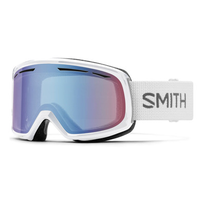 SMITH - AS DRIFT - Skibrille - white floral/blu snsr m