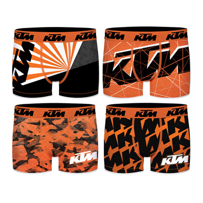 KTM - MOTORBIKE - Boxers x4 Junior multicolour