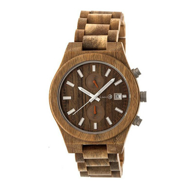 EARTH WOOD - CASTILLO - Chronograph Watch - olive