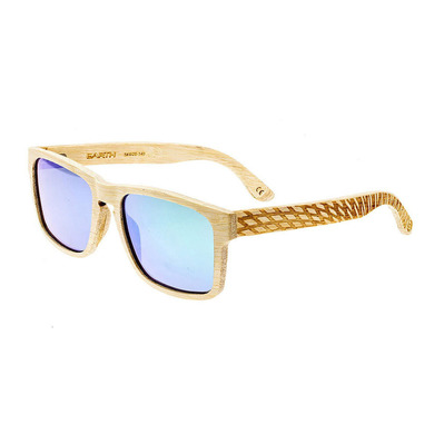 EARTH WOOD - WHITEHAVEN - Polarised Sunglasses - bamboo wood/green