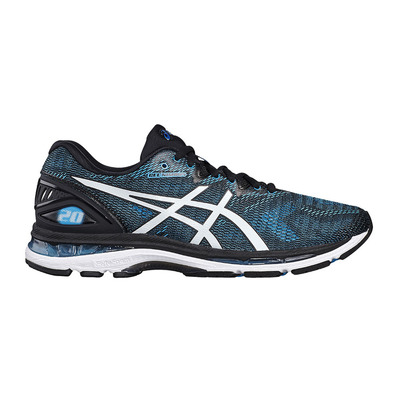 ASICS - GEL-NIMBUS 20 - Running Shoes - Men's - island blue/white/black