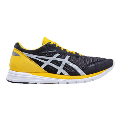 ASICS - GEL-FEATHER GLIDE 4 - Running Shoes - Men's - black/tai-chi yellow