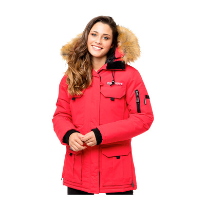 GEOGRAPHICAL NORWAY - ALPES - Parka - Frauen - red