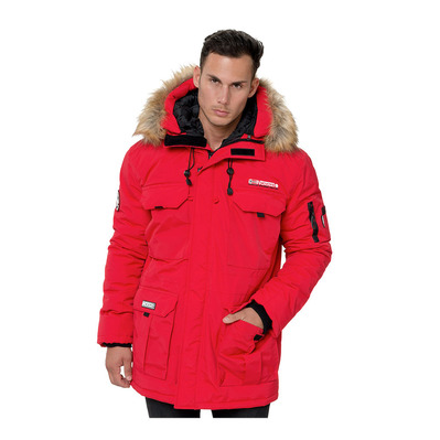 GEOGRAPHICAL NORWAY - ALPES - Parka - Männer - red
