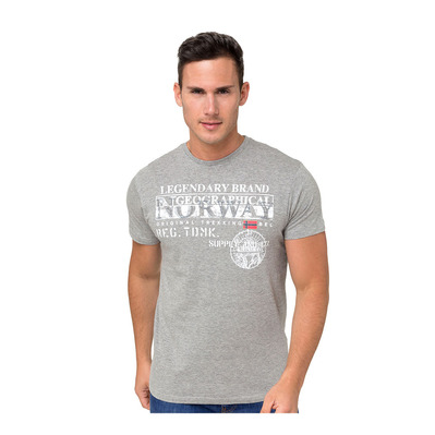 GEOGRAPHICAL NORWAY - SNHT-021 - T-Shirt - Männer - grey