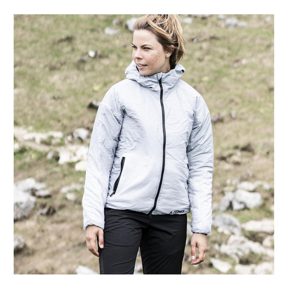 Maryanne Jones fragancia Volcán  ADIDAS Adidas W WINDWE INS J - Jacket - Women's - grethr/white - Private  Sport Shop