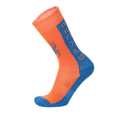 SPYDER - IMPERIAL - Chaussettes ski Junior medium orange