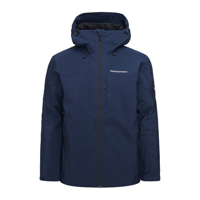 PEAK PERFORMANCE - M Maroon Jacket Blue Shadow Homme Blue Shadow