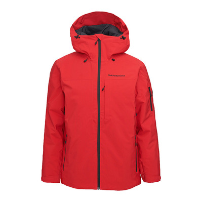PEAK PERFORMANCE - M Maroon Jacket The Alpine Homme The Alpine