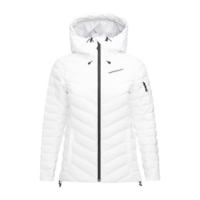 PEAK PERFORMANCE - FROST - Chaqueta de esquí mujer offwhite
