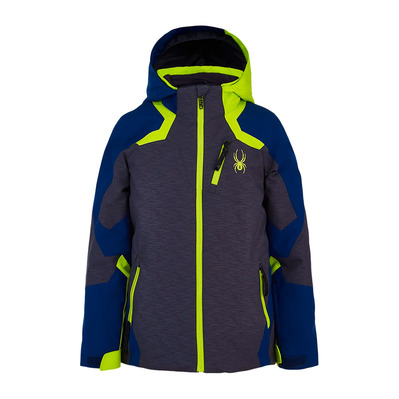 SPYDER - LEADER - Veste ski Junior open grey
