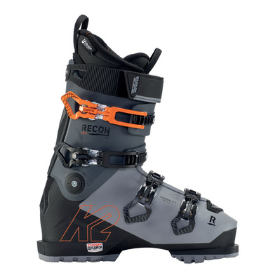 K2 - RECON 100 MV - Scarponi da sci Uomo gray/black/orange