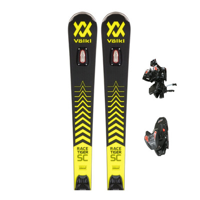 VOLKL - RACETIGER SC + VMOTION 12 GW - Pack skis race + Fixations Homme