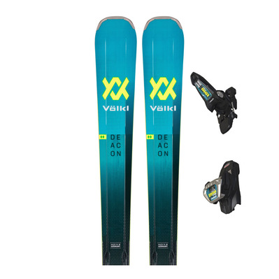 VOLKL - DEACON 84 + LOWRIDE XL 13 FR - Pack skis all-mountain + Fixations Homme