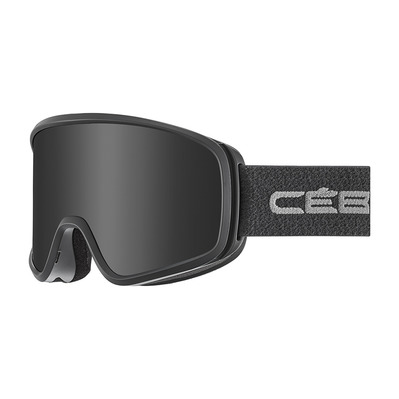 CEBE - STRIKER EVO - Masque ski full black/grey ultra black