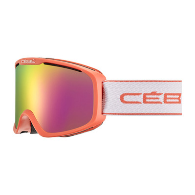 CEBE - FALCON OTG - Masque ski matt coral/rose flash pink
