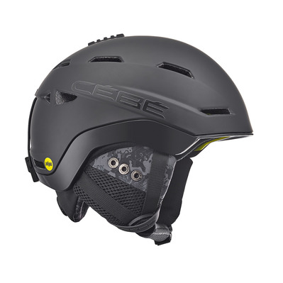 CEBE - VENTURE MIPS - Casque ski full matt black/geometric camo