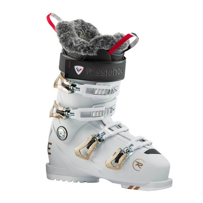 ROSSIGNOL - PURE PRO 90 - WHITE GREY Femme WHITE GREY